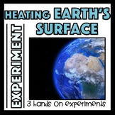 Unequal Heating of Earth's Surface Atmosphere Experiments
