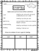 Energy Lesson and Vocabulary Posters