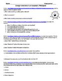 Energy movement in an Ecosystem WEBQUEST