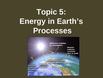 Energy notes on PPT