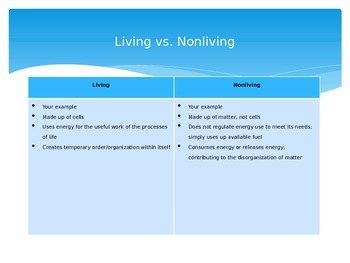 Energy of Life PPT