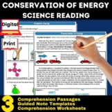 Energy (potential and Kinetic) Guided Reading