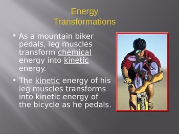 Energy Powerpoint Notes Part 2 of 3
