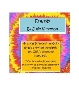 Energy practice worksheet