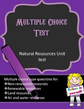 Energy resources quiz