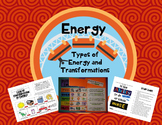 Energy Types and Transformations Flipbook or ISN