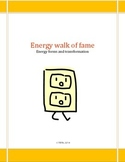 Energy walk of fame