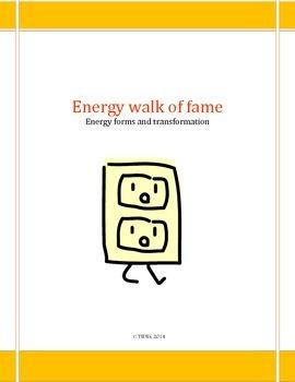 Energy walk of fame