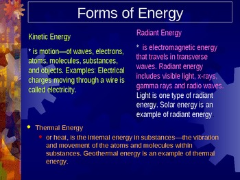 Energy/Electricity PowerPoint