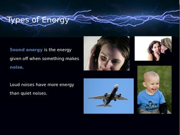Energy_Introduction Power Point and Money Activity