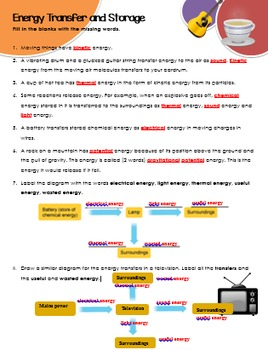 Energy_Transfer and Storage