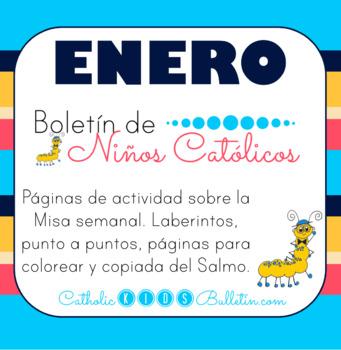 Enero 2018 Boletín para Niños Católicos