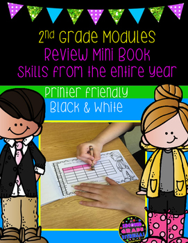 End of 2nd Grade Module Mini Review Book