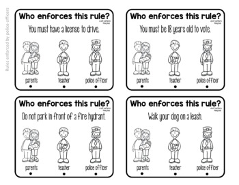 Enforcing Rules Clip Cards