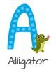 Eng- Beautiful Animal Alphabet Posters