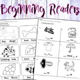 Eng/Span. -  Beginning Readers - Worksheets & Mini Workbooks