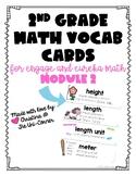 Engage Eureka Math 2nd Grade Vocabulary Module 2