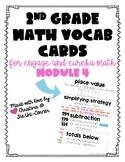 Engage Eureka Math 2nd Grade Vocabulary Module 4