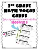 Engage Eureka Math 2nd Grade Vocabulary Module 5
