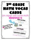 Engage Eureka Math 2nd Grade Vocabulary Module 6