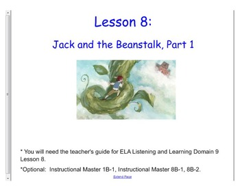 Engage NY 1st Grade Listening and Learning Domain 9 Fairy Tales Lesson 8 &9