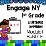 Engage NY 1st Grade Math Module 1 BUNDLE SmartBoard