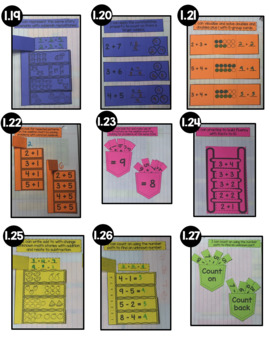 Engage NY 1st Grade Math Module 1 Interactive Notebook