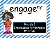 Engage NY, 1st Grade Math, Module 1, Interactive PowerPoints