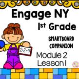 Engage NY 1st Grade Math Module 2 Lesson 1 SmartBoard