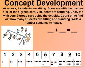 Engage NY 1st Grade Math Module 1 Lesson 10 SmartBoard