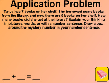 Engage NY 1st Grade Math Module 1 Lesson 12 SmartBoard