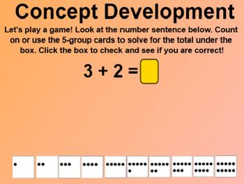 Engage NY 1st Grade Math Module 1 Lesson 15 SmartBoard