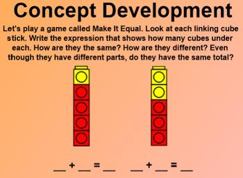 Engage NY 1st Grade Math Module 1 Lesson 17 SmartBoard