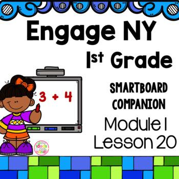 Engage NY 1st Grade Math Module 1 Lesson 20 SmartBoard