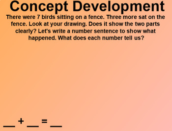 Engage NY 1st Grade Math Module 1 Lesson 9 SmartBoard