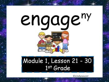 Engage NY, 1st Grade Math, Module 1, Lessons 21-30, PowerPoints