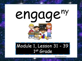 Engage NY, 1st Grade Math, Module 1, Lessons 31-39, PowerPoints