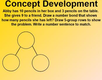 Engage NY 1st Grade Math Module 2 Lesson 13 SmartBoard