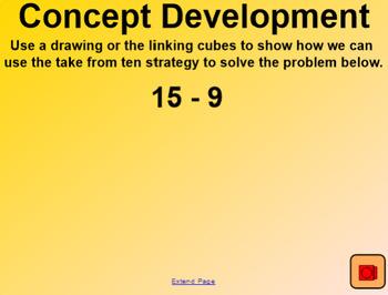 Engage NY 1st Grade Math Module 2 Lesson 14 SmartBoard