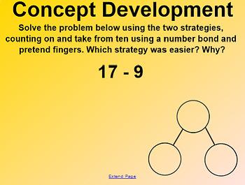 Engage NY 1st Grade Math Module 2 Lesson 16 SmartBoard