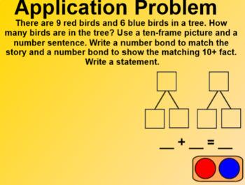 Engage NY 1st Grade Math Module 2 Lesson 5 SmartBoard