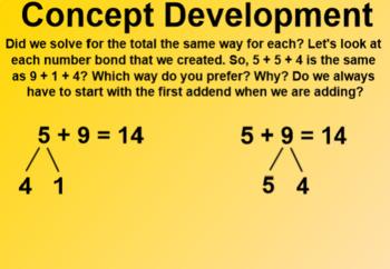 Engage NY 1st Grade Math Module 2 Lesson 6 SmartBoard