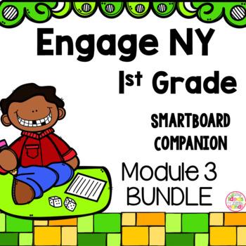 Engage NY 1st Grade Math Module 3 BUNDLE SmartBoard