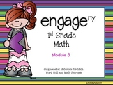 Engage NY, 1st Grade Math, Module 3, I Can Statements and Much More