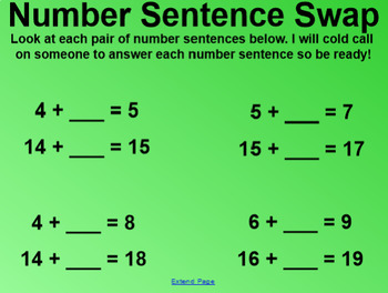 Engage NY 1st Grade Math Module 3 Lesson 6 SmartBoard