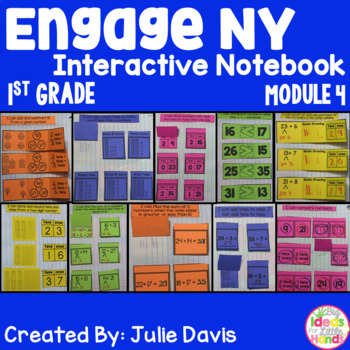 Engage NY 1st Grade Math Module 4 Interactive Notebook