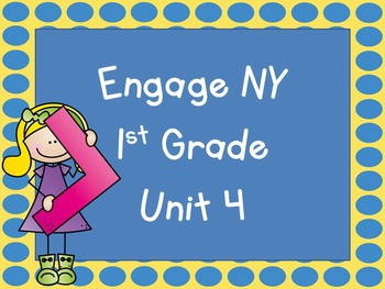 Engage NY, 1st Grade Math, Module 4, Interactive PowerPoints