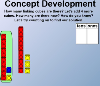 Engage NY 1st Grade Math Module 4 Lesson 13 SmartBoard
