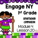 Engage NY 1st Grade Math Module 4 Lesson 20 SmartBoard