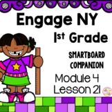 Engage NY 1st Grade Math Module 4 Lesson 21 SmartBoard